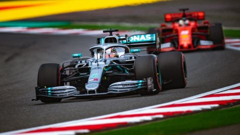 Formel 1 - Mercedes-AMG Petronas Motorsport, Großer Preis von China 2019. Lewis Hamilton   Formula One - Mercedes-AMG Petronas Motorsport, Chinese GP 2019. Lewis Hamilton