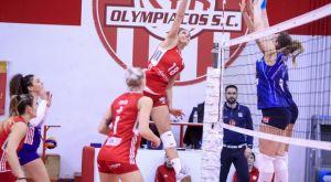 Volleyleague γυναικών: Σε λιγότερο από μια ώρα ο Ολυμπιακός την Θέτιδα Βούλας