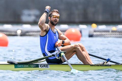 Ολυμπιακοί Αγώνες - Κωπηλασία: Μυθική εμφάνιση από τον Ντούσκο, άγγιξε το ολυμπιακό ρεκόρ και προκρίθηκε στον τελικό του μονού σκιφ