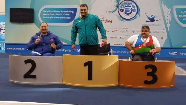 Ασημένιο μετάλλιο με νέο ρεκόρ Ευρώπης ο Δήμου στο