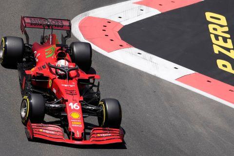 Formula 1 Μπακού: Νέα πολ ποζίσιον του Λεκλέρ και της Ferrari
