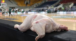 Εβαλαν κοτόπουλα στον πάγκο του Ολυμπιακού