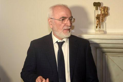 Ο Ιβάν Σαββίδης από παρουσίαση σε εκδήλωση