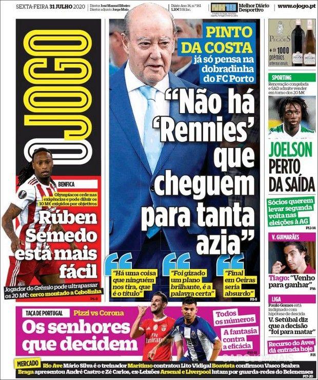 """Ολυμπιακός: """"Πιο εύκολο του Σεμέδο"""", γράφει η O Jogo για το φλερτ της Μπενφίκα"""