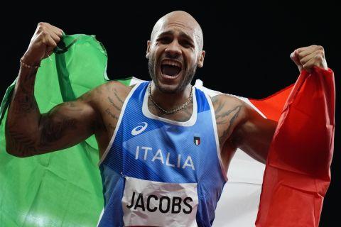 Ο νικητής των 100 μέτρων στους Ολυμπιακούς Αγώνες Του Τόκιο, Μαρσέλ Τζέικομπς