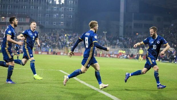 Βοσνία - Ελλάδα 2-0: Ο Πιάνιτς άφησε