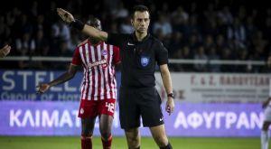 Super League 1: Ο Σέζος στο Ολυμπιακός – ΑΕΛ, ο Κουμπαράκης στο Πανιώνιος – ΠΑΟΚ
