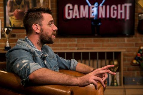 """Ο Βαγγέλης Μάντζαρης στην εκπομπή """"Game Night"""""""