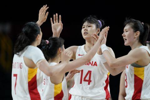 Η Εθνική ομάδα μπάσκετ γυναικών της Κίνας