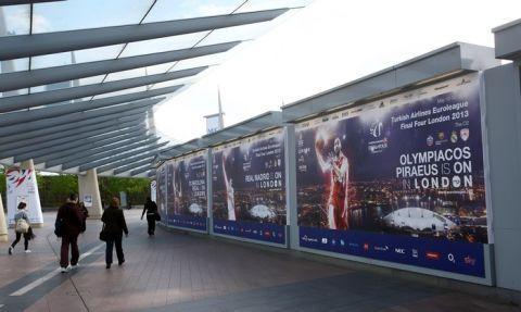 Μπαίνει πρώτος στην O2 Arena ο Ολυμπιακός