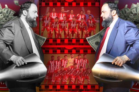 Οι 123 μεταγραφές Μαρινάκη: Έσπασε το φράγμα των 100 εκατομμυρίων ευρώ