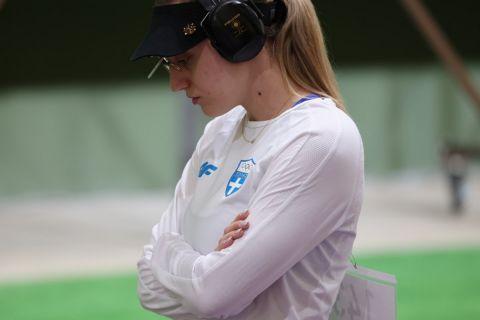 """Το SPORT24 στο Τόκιο, οι δηλώσεις της Άννας Κορακάκη: """"Ο τελικός είναι ρώσικη ρουλέτα, προσδοκώ μετάλλιο στα 25μ."""""""