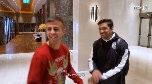 ΠΑΟΚ: Πέλκας, Φερέιρα, Παρασκευάς και blooper στο Χριστουγεννιάτικο video