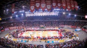 Ολυμπιακός: Δεσπόζει το cube στο ΣΕΦ
