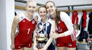 Ολυμπιακός βόλεϊ γυναικών: Παρέμειναν Χριστοδούλου, Γιώτα, Χίπε και Κονόμη