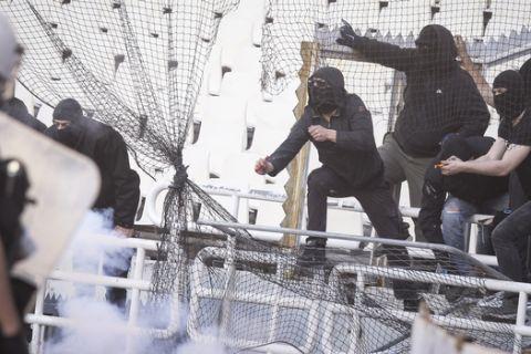 ΚΥΠΕΛΛΟ / ΤΕΛΙΚΟΣ / ΑΕΚ - ΠΑΟΚ / PREGAME (ΦΩΤΟΓΡΑΦΙΑ: ΜΑΡΚΟΣ ΧΟΥΖΟΥΡΗΣ / EUROKINISSI)