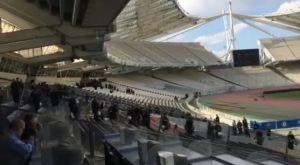 Τελικός Κυπέλλου: Αστυνομικές δυνάμεις δίπλα στα δημοσιογραφικά