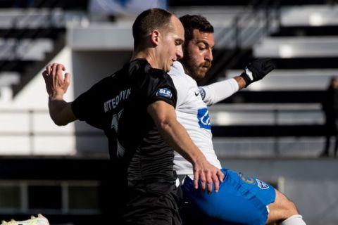 Στιγμιότυπο από το Δόξα Δράμας - Ιωνικός για την 9η αγωνιστική της Super League 2.