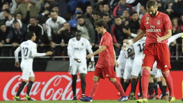 Βαλένθια - Ρεάλ Μαδρίτης 2-1: Άλμα Champions League για τις νυχτερίδες