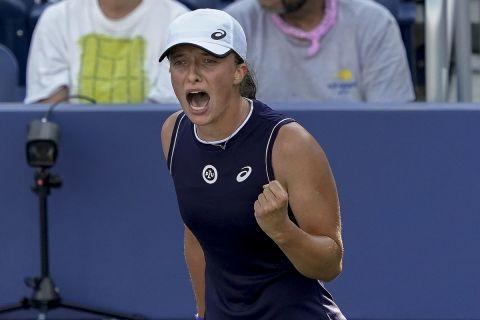 Η Ίγκα Σβιόντεκ στο US Open