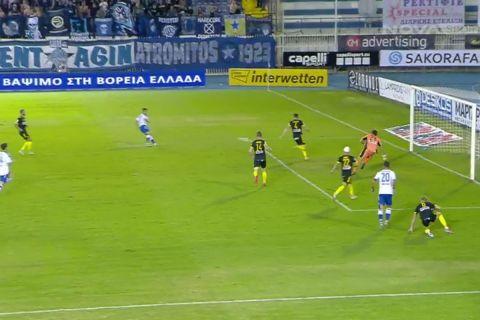 Ο Σπιριντόνοβιτς νίκησε τον Κουέστα και έκανε το 1-1 στο Ατρόμητος - Άρης