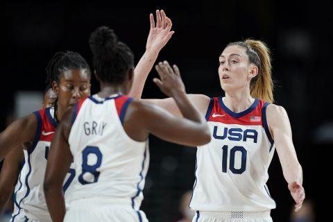 Η Εθνική ομάδα της Αμερικής στο μπάσκετ γυναικών