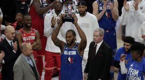 2020 NBA All-Star Game: Νέο παπούτσι με… σεισμογράφο και MVP για τον Λέοναρντ
