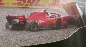 Η εγκατάλειψη του πρωτοπόρου Φέτελ στο GP της Γερμανίας (VIDEO)