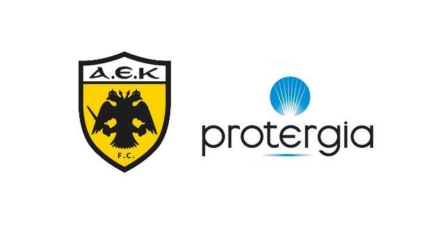 Χορηγική συνεργασία της ΑΕΚ με την Protergia