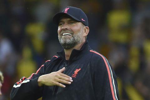 Ο Γιούργκεν Κλοπ μετά τη νίκη της Λίβερπουλ επί της Νόριτς | 14 Αυγούστου 2021