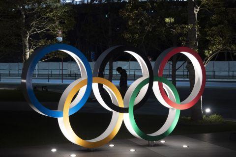 Το λογότυπο των Ολυμπιακών Αγώνων στο Τόκιο