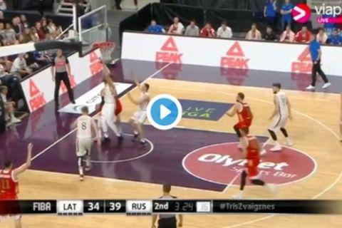 Φοβερός ο Στρέλνιεκς στη νίκη της Λετονίας επί της Ρωσίας