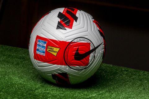Η μπάλα του νέου πρωταθλήματος της Super League Interwetten για το 2021/22