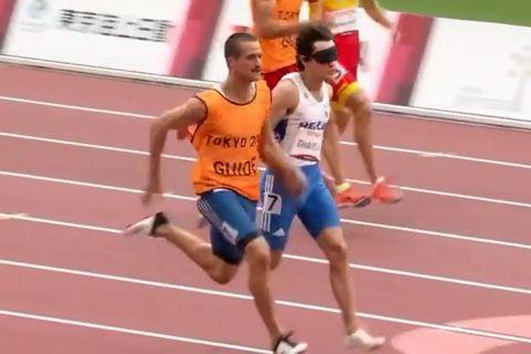 Οι Γκαβέλας-Γκαραγκάνης τρέχουν στον ημιτελικό των 100 μέτρων στους Παραολυμπιακούς Αγώνες στην κατηγορία Τ11