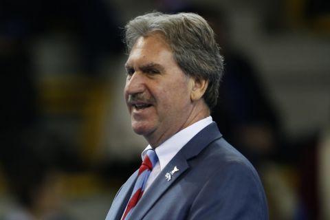 Ο Ντέιβιντ Χάγκερτι, πρόεδρος της ITF