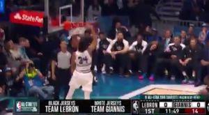 NBA All-Star Game: Το πρώτο καλάθι του αγώνα το σημείωσε ο Γιάννης Αντετοκούνμπο!
