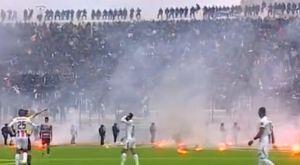 Διακόπηκε ματς για το κύπελλο Αλγερίας, 14 τραυματίες από σοβαρά επεισόδια