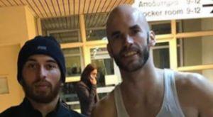 Παναθηναϊκός – Αρμάνι Μιλάνο: Αντάλλαξαν φανέλες Καλάθης – Τζέιμς