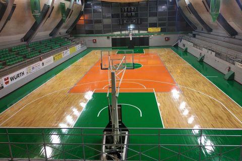 Το γήπεδο μπάσκετ του Μίλωνα
