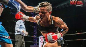 Friday Boxing Fight Night by Stoiximan: «Μάγεψε» η Λιναρδάτου