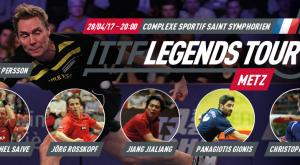 Ανάμεσα σε δόξες του αθλήματος ο Γκιώνης, παρών στο Legends Tour 2017!