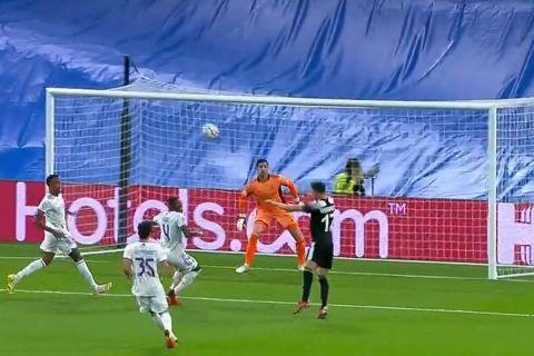 O Γιαξιμπόεφ σκόραρε με κεφαλιά για το 0-1 της Σέριφ επί της Ρεάλ