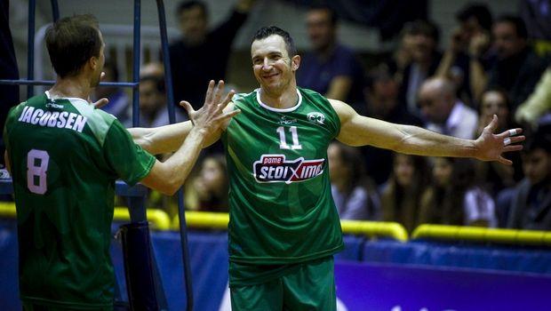 Volleyleague ανδρών: Ο Μπόγιαν Γιορντάνοφ MVP της 19ης αγωνιστικής