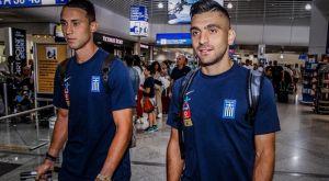 Εθνική Ελλάδος: Πέταξαν για Φινλανδία οι διεθνείς