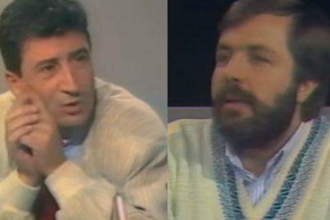 O Χάρρυ Κλυνν πριν από 30 χρόνια στην εκπομπή του Φίλιππου Συρίγου
