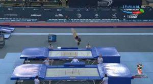 Τραμπολίνο γυναικών: 22η στον κόσμο η Λίλα Κασάπογλου