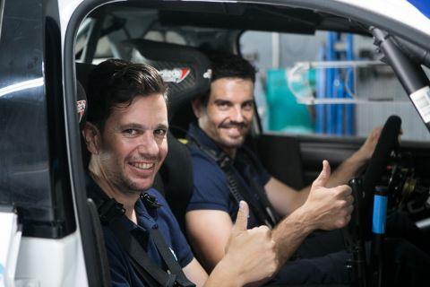 Οι Γιώργος Κεχαγιάς και Μάριος Τσαούσογλου στη συνέντευξη στο SPORT24