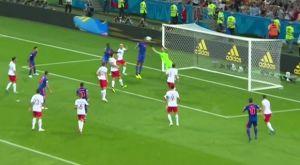 Το 1-0 της Κολομβίας με κεφαλιά του Μίνα (VIDEO)