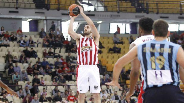 Με Παπαπέτρου ο Ολυμπιακός, 83-72 τον Κολοσσό