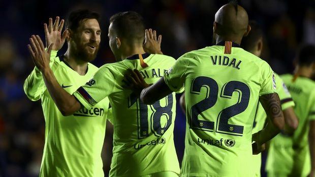 Λεβάντε - Μπαρτσελόνα 0-5: Οι άλλοι προσπαθούν, ο Βαλβέρδε έχει Μέσι